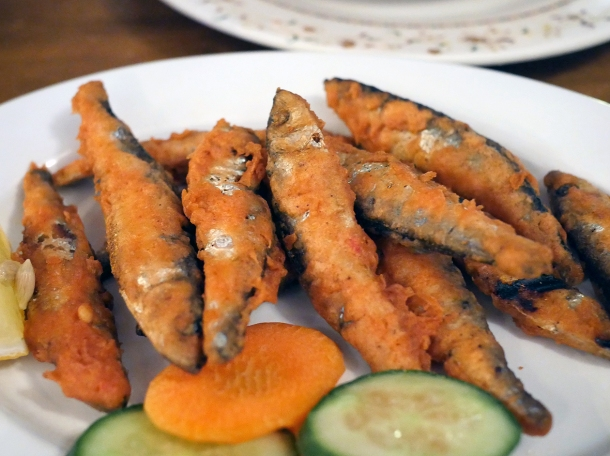 illustrative photo of the whitebait at Danfe