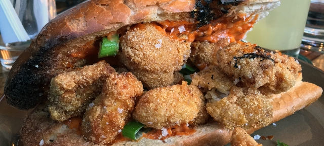 illustrative photo of the fried chicken sandwich from Eat Like A Girl at Homeboy
