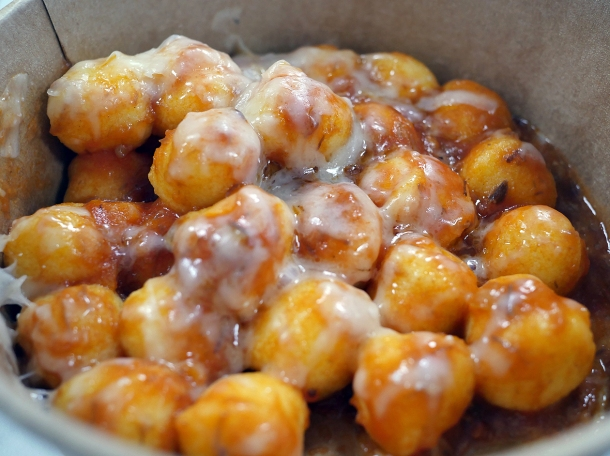 illustrative photo of the ox-tail gnocchi from La Nonna at Flat Iron Square
