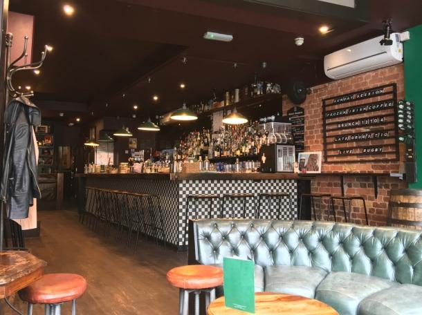 illustrative photo of the interior at Homeboy Bar Islington