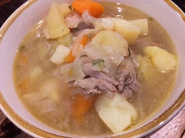 illustrative photo of the Irish stew from Eat Like A Girl at Homeboy