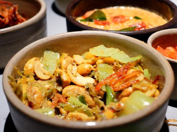 illustrative photo of the cashew nut curry at Kolamba