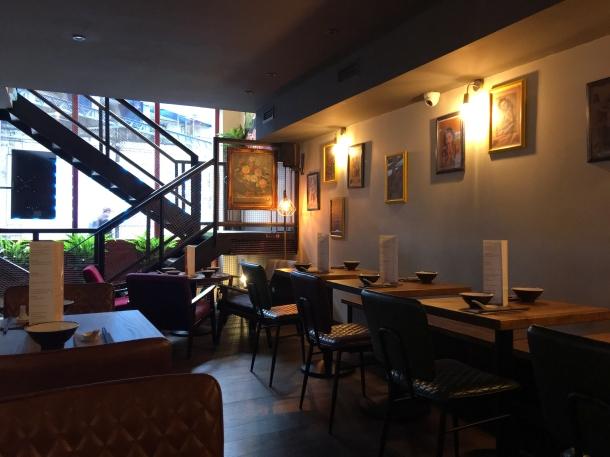 illustrative photo of the downstairs decor at Baozi Inn London Bridge