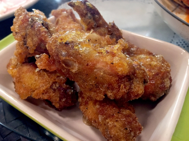 illustrative photo of the fried chicken wings at Normah's Cafe