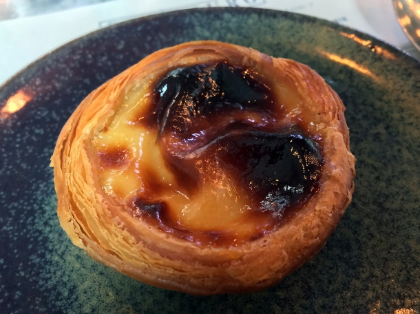 illustrative photo of a nata tart at Bar Douro