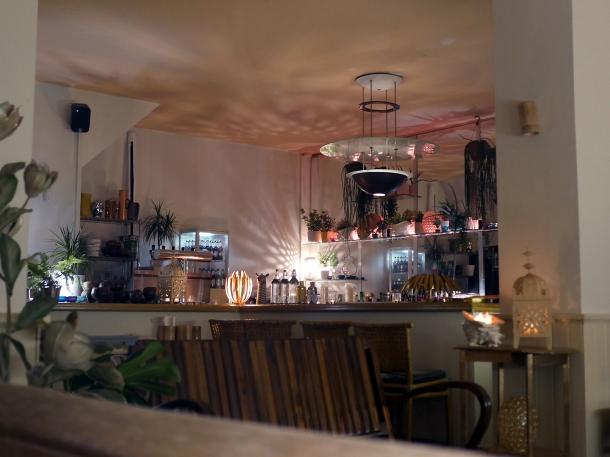 illustrative photo of the bar at Bong Bong's Manila Kanteen