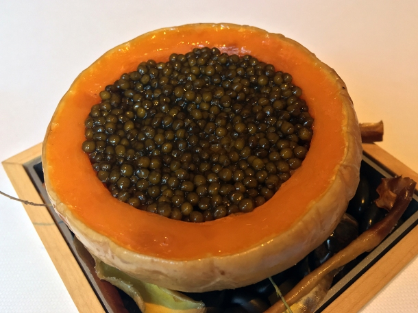 illustrative photo of the caviar at Claridge's Davies and Brook