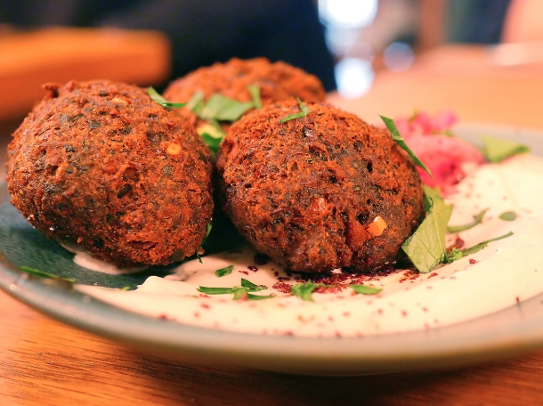 illustrative photo of the falafel at Bubala