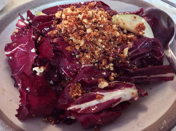 illustrative photo of the radicchio at Bubala