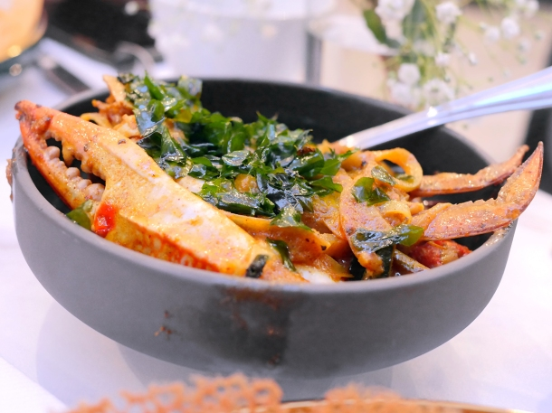 illustrative photo of the crab curry at Colombo Kitchen