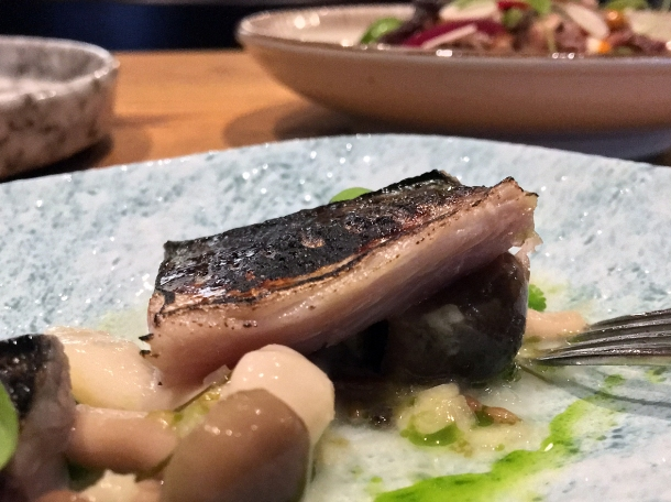 illustrative photo of the cured mackerel at Volta do Mar
