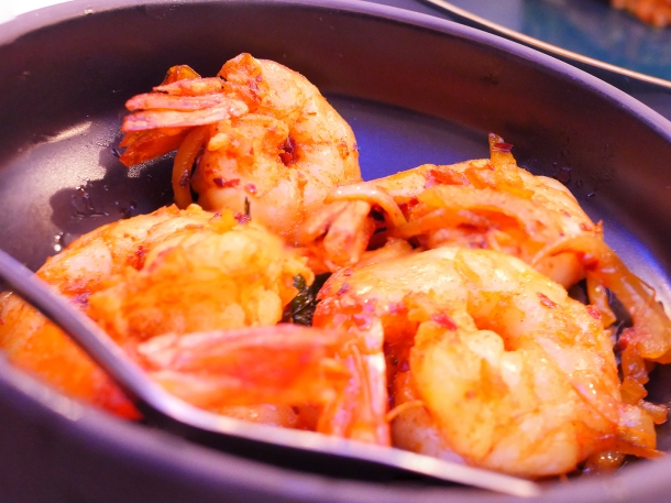 illustrative photo of the devilled prawns at Colombo Kitchen