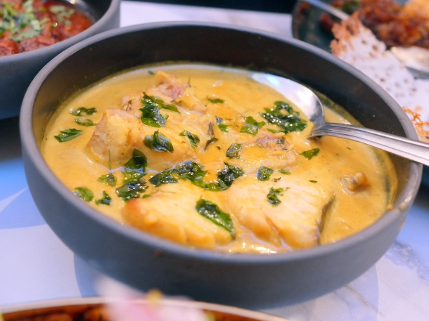 illustrative photo of the kingfish curry at Colombo Kitchen