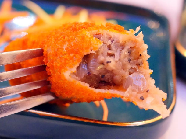 illustrative photo of a mutton roll at Colombo Kitchen Worcester Park