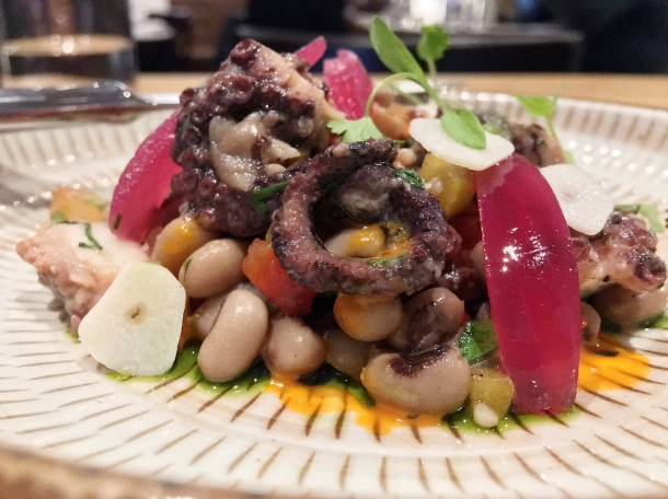 illustrative photo of the octopus salad at Volta do Mar