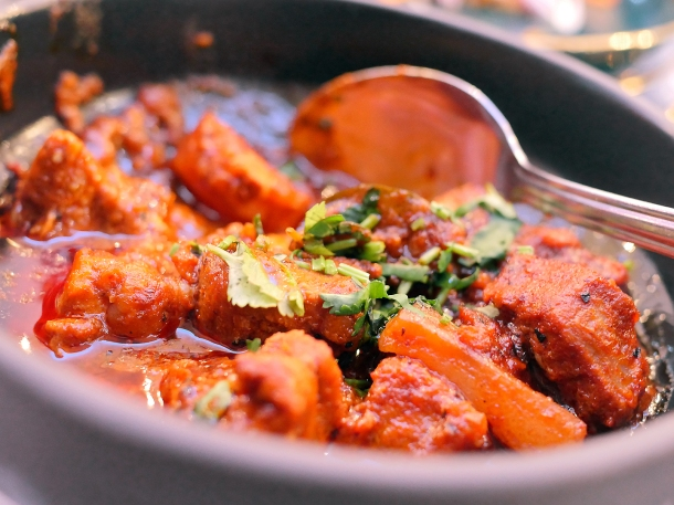 illustrative photo of the special red pork curry at Colombo Kitchen