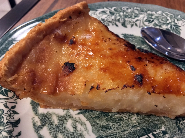 illustrative photo of the cassava tart at Sarap