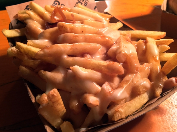 illustrative photo of the cheesy fries from Up In My Grill at Vinegar Yard
