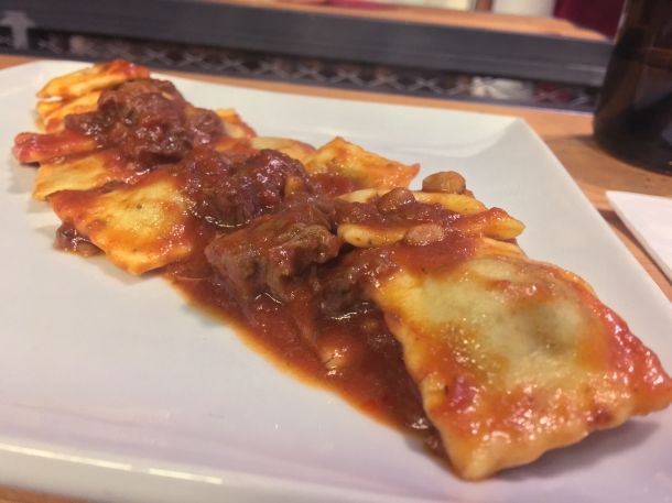illustrative photo of the ravioli at Macellaio RC Union Street