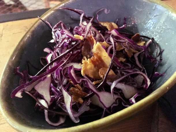 illustrative photo of the red cabbage with Sicilian orange at Macellaio RC Union Street