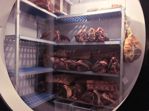 illustrative photo of steak storage at Macellaio RC Southwark