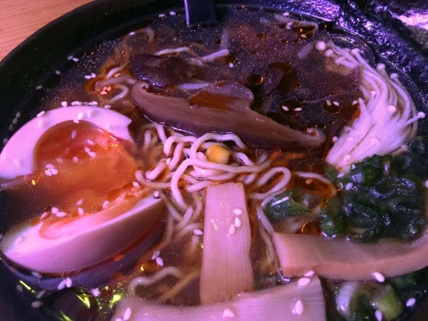 illustrative photo of the mushroom ramen at Kauboi Ramen