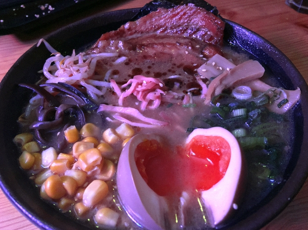 illustrative photo of the Texan Tonkotsu at Kauboi Ramen