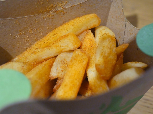 illustrative photo of the chips from Nando's Woolwich