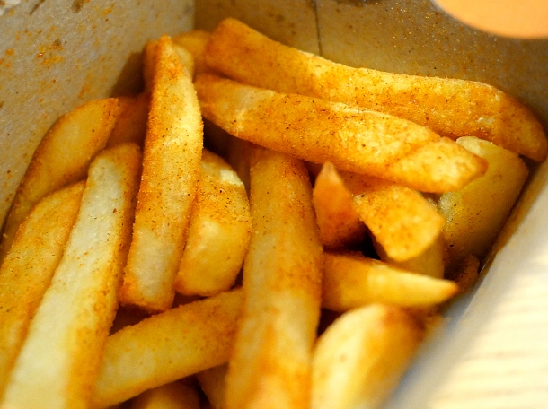 illustrative photo of the chips from Nando's