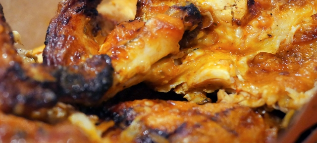 illustrative photo of the extra hot whole chicken from Nando's