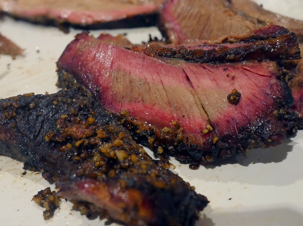 illustrative photo of the brisket from Cuepoint