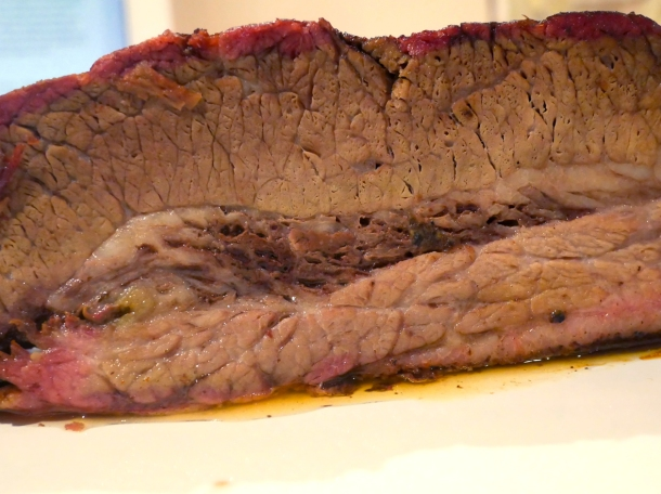 illustrative photo of the brisket from Prairie Fire