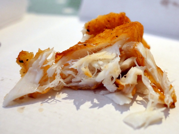 illustrative image of the lemon and pepper cod from Lewis's Newlyn