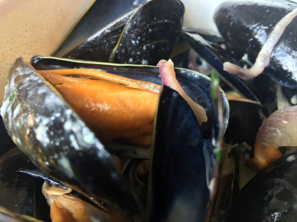 illustrative photo of the takeaway mussels from Searoom St Ives