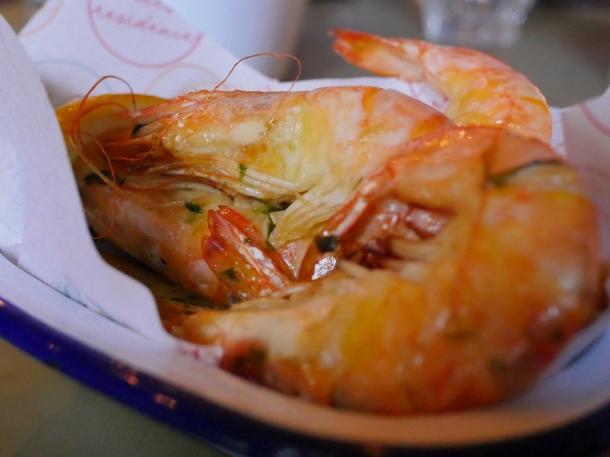 illustrative image of the prawns at Artists Residence Penzance