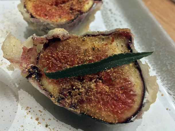 illustrative photo of the fig tempura special at Koya City