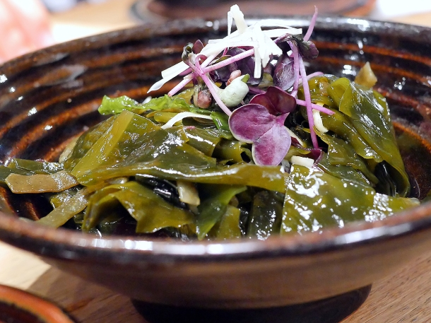 illustrative photo of the seaweed salad at Koya City