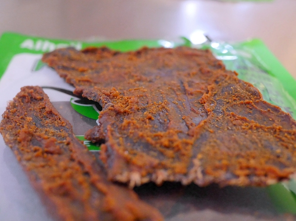 illustrative photo of the kilishi from Alhaji Suya