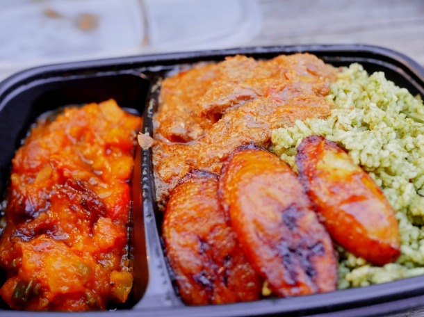illustrative photo of the coconut and sweet potato lamb from Kaieteur Kitchen