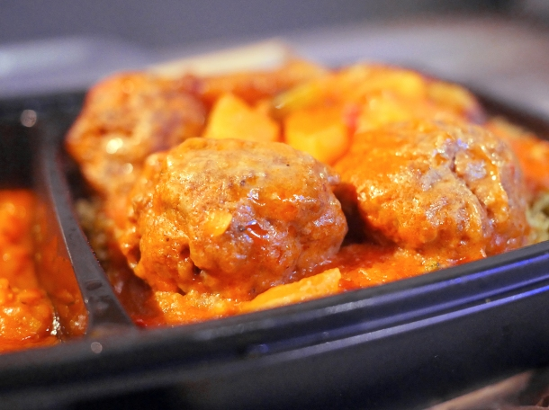 illustrative photo of the meat balls from Kaieteur Kitchen