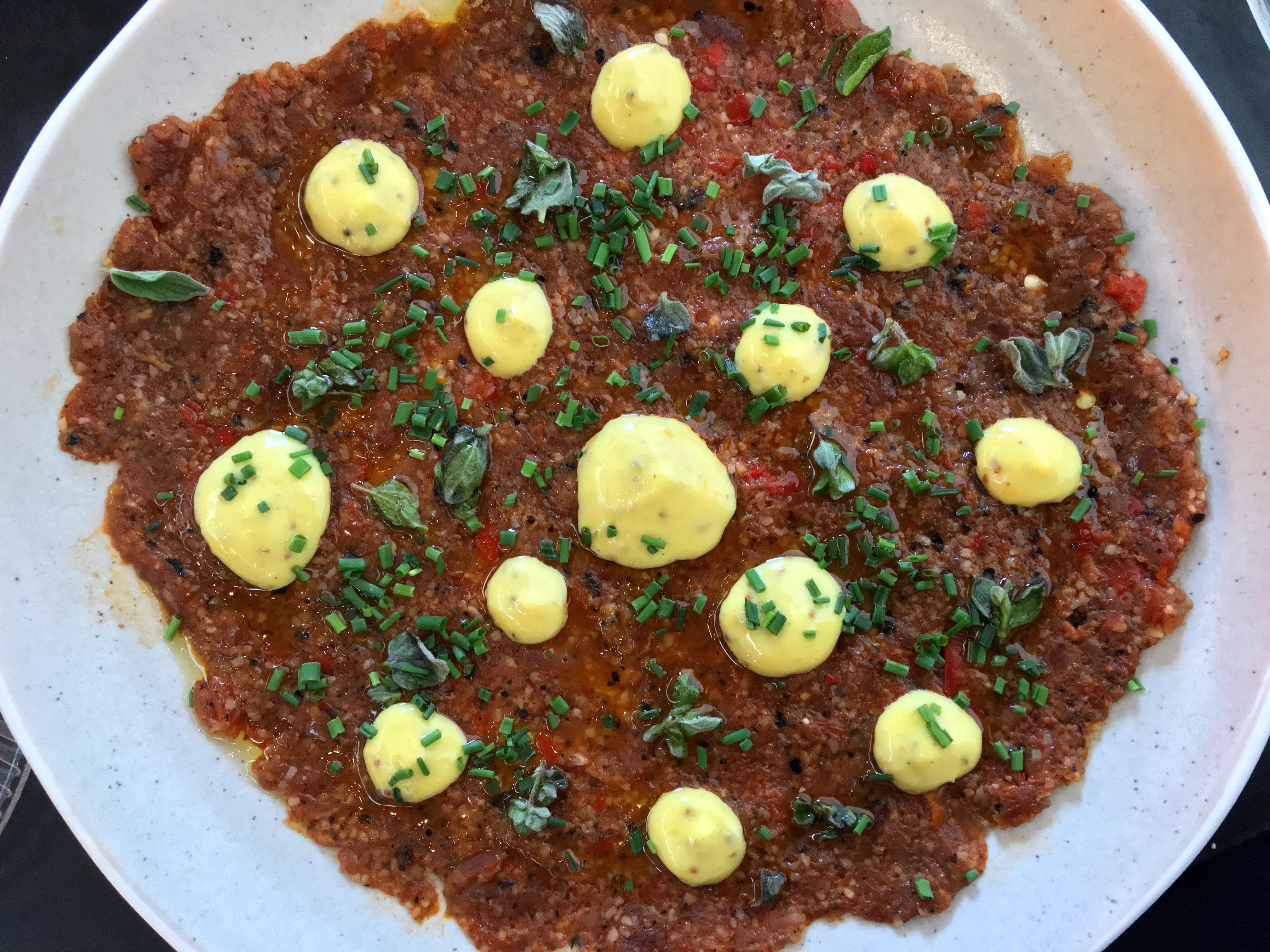 illustrative photo of the 'Tunisian' tartar at Bala Baya