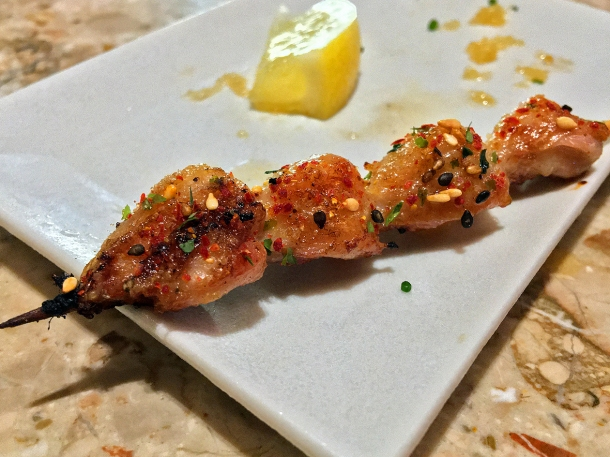 illustrative image of the chicken tails yakitori at Humble Chicken