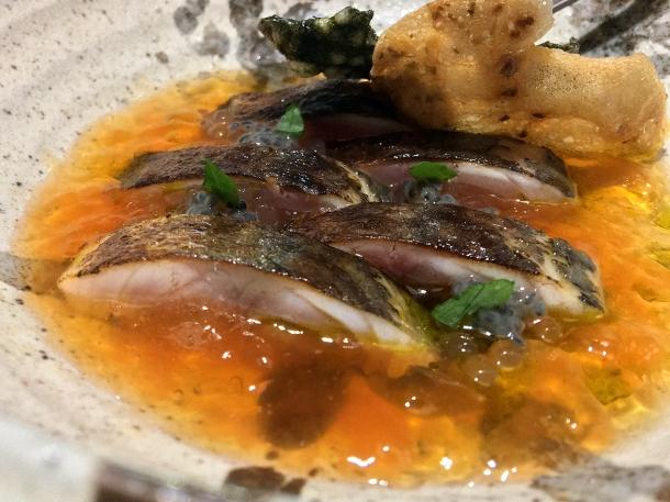 illustrative image of the mackerel at Humble Chicken