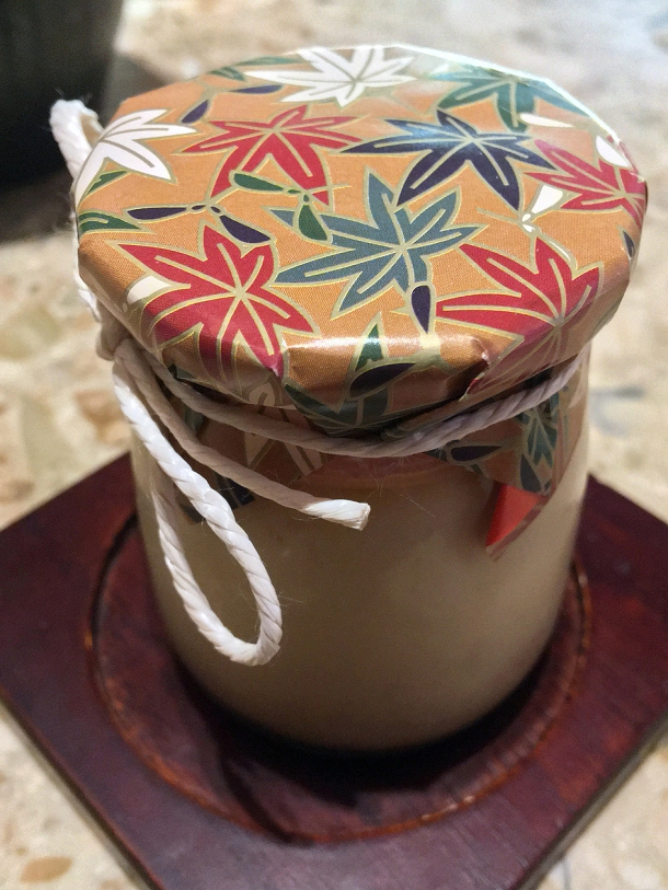 illustrative image of the purin jar at Humble Chicken