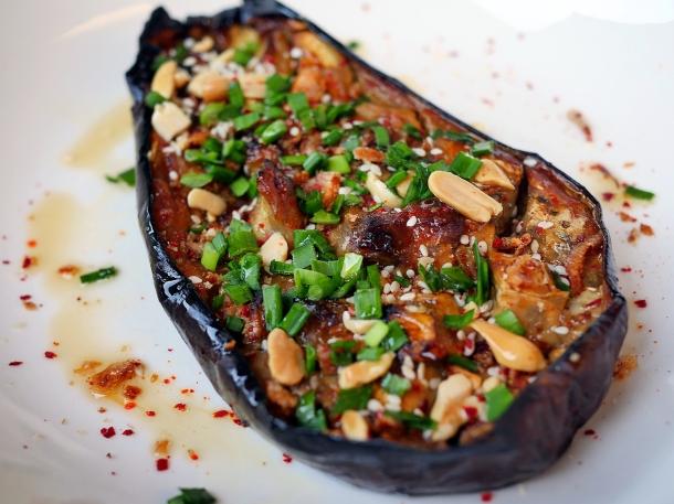 illustrative photo of the aubergine at Craving Tottenham
