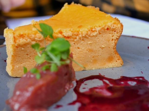 illustrative photo of the Japanese-style cheesecake at Craving Tottenham
