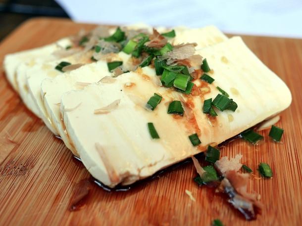 illustrative photo of the tofu at Craving Tottenham