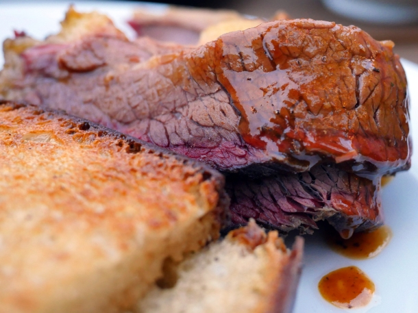 illustrative photo of the brisket at Perry Hill Pub