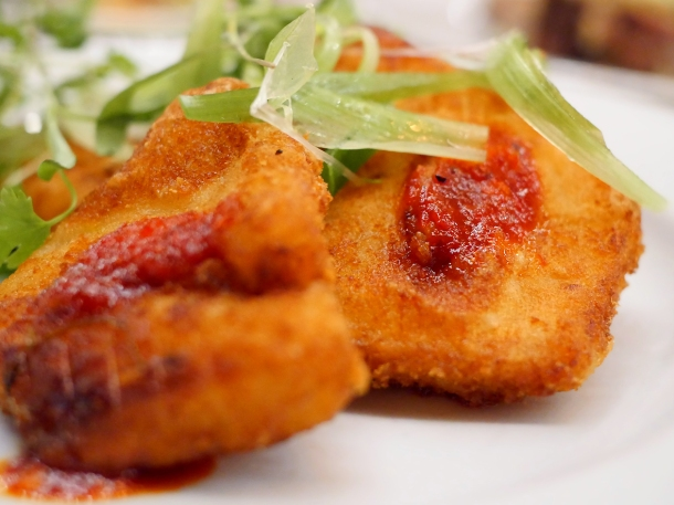 illustrative photo of the deep-fried celeriac at Perry Hill Pub