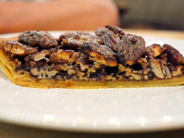illustrative photo of the pecan pie at Perry Hill Pub